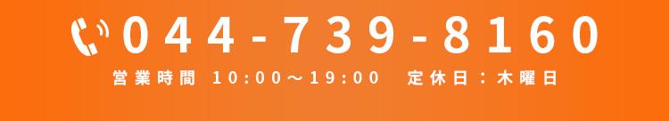 電話044-739-8160